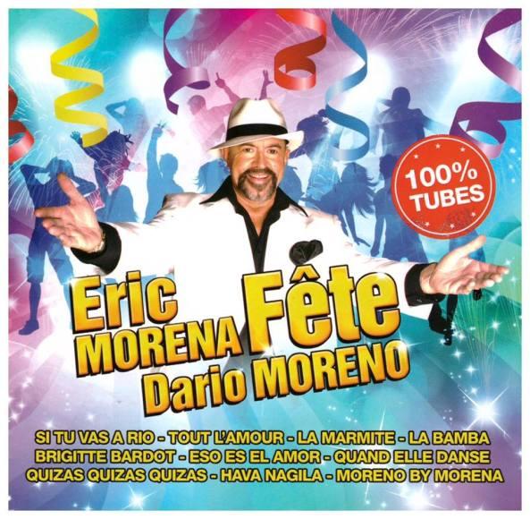 Eric Morena fête Dario Moreno - Cover