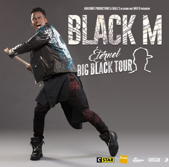 Black M - Eternel Big Black Tour (Dates Tournée)