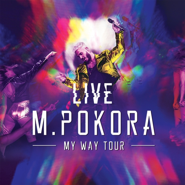 M. Pokora - My Way Tour Live (Cover BD)