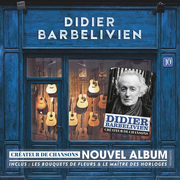 Didier Barbelivien - Créateur de chansons (Cover Album BD)