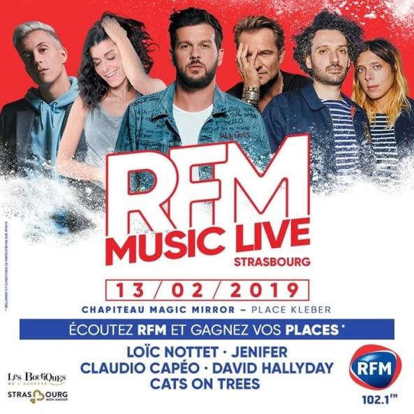 rfm music live strasbourg 2019
